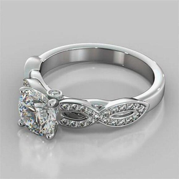Jewelry - CVD diamonds Anniversary 1.75 Carats brilliant cut